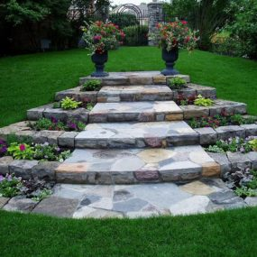Stone Stairway 285x285 Outdoor Summer Decor: Beautifying Your Space