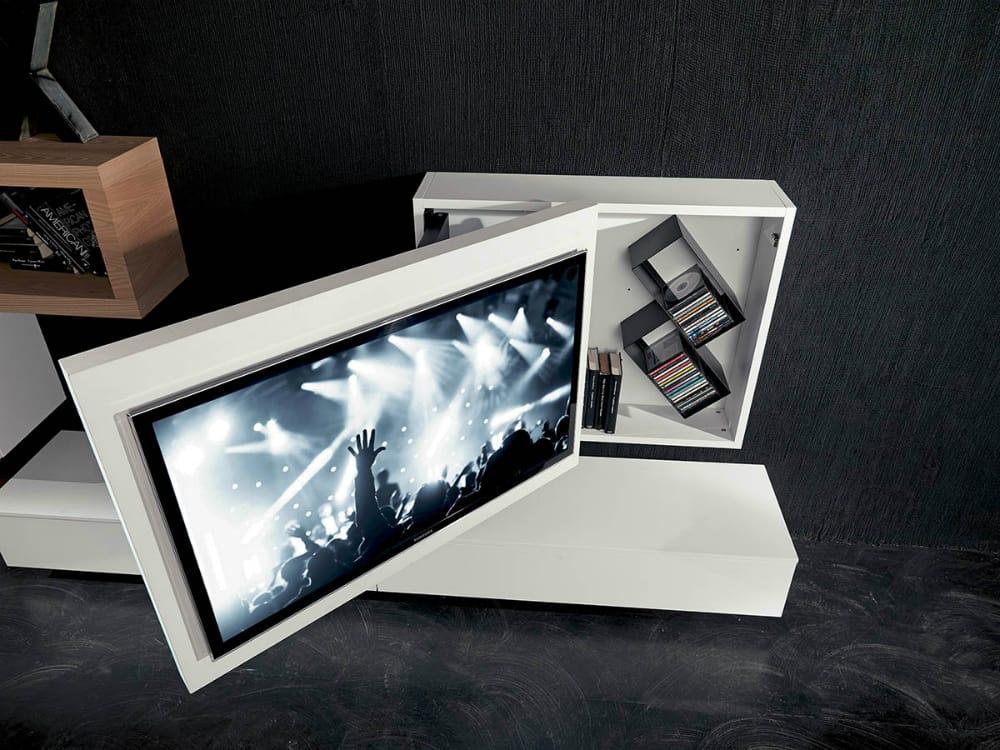 Storage TV Rack Box by Fimar