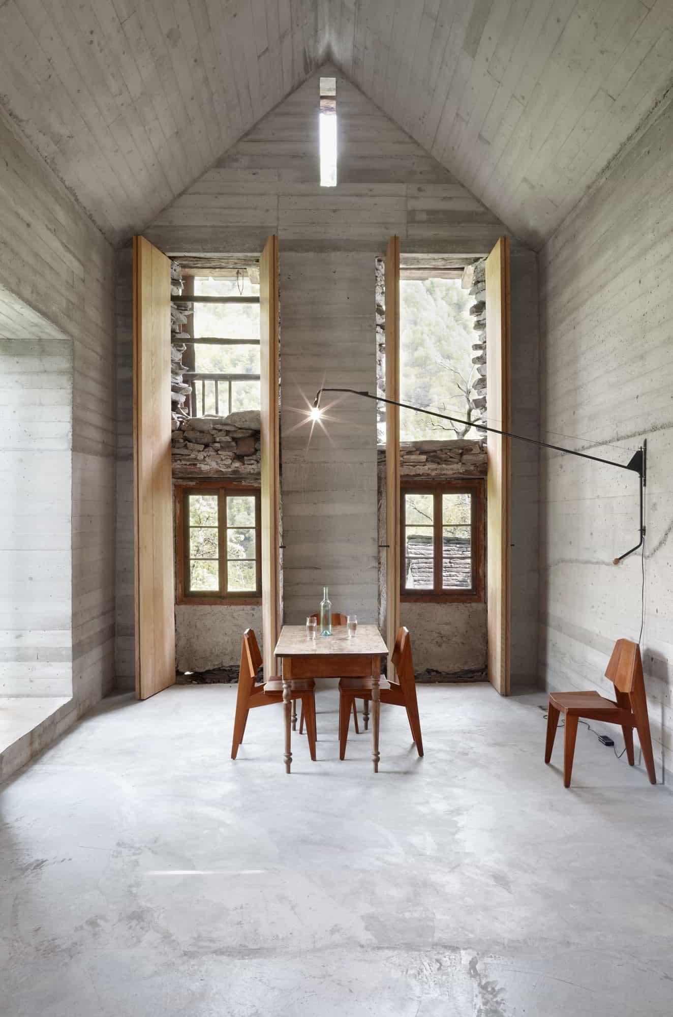 Tall interior shutters