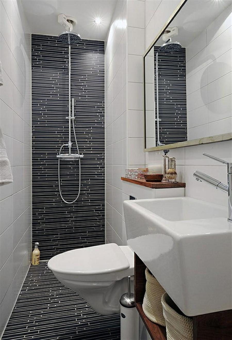 Thin shower tiles