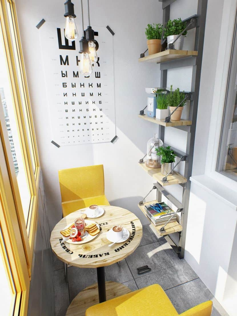 Tiny Breakfast Room