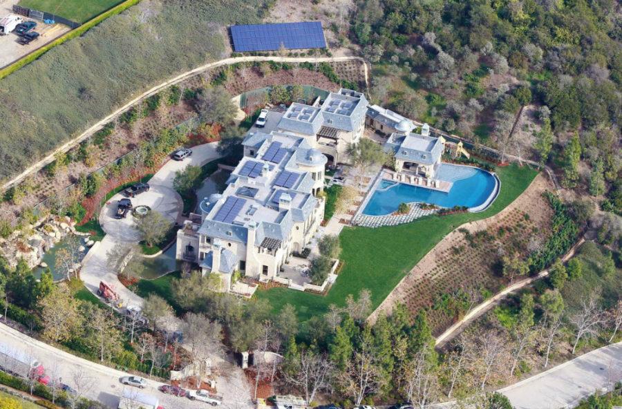 Tom Brady's palace in California