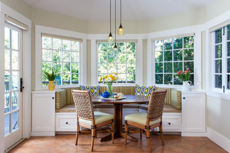 Traditional Breakfast Nook