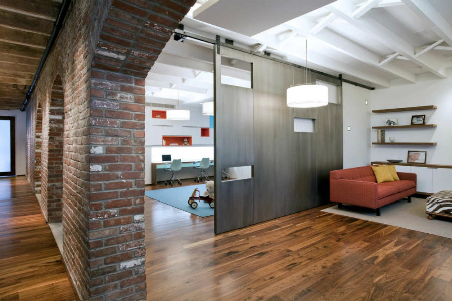 View In Gallery Tribeca Loft Residence By A I Design Corp