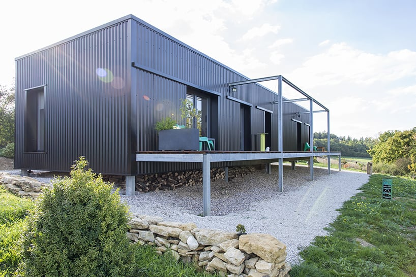 Two-container home