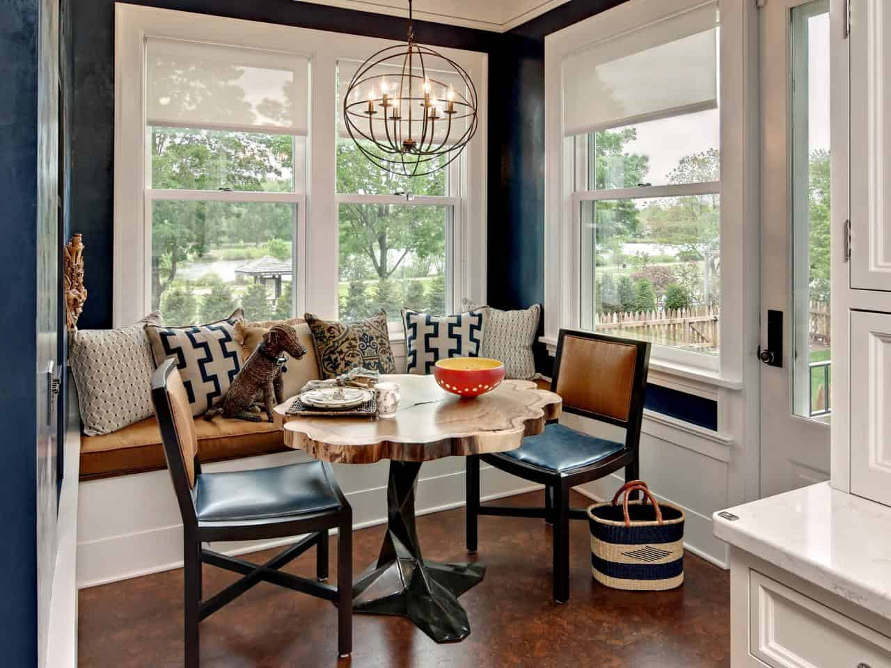 Unique Breakfast Nook