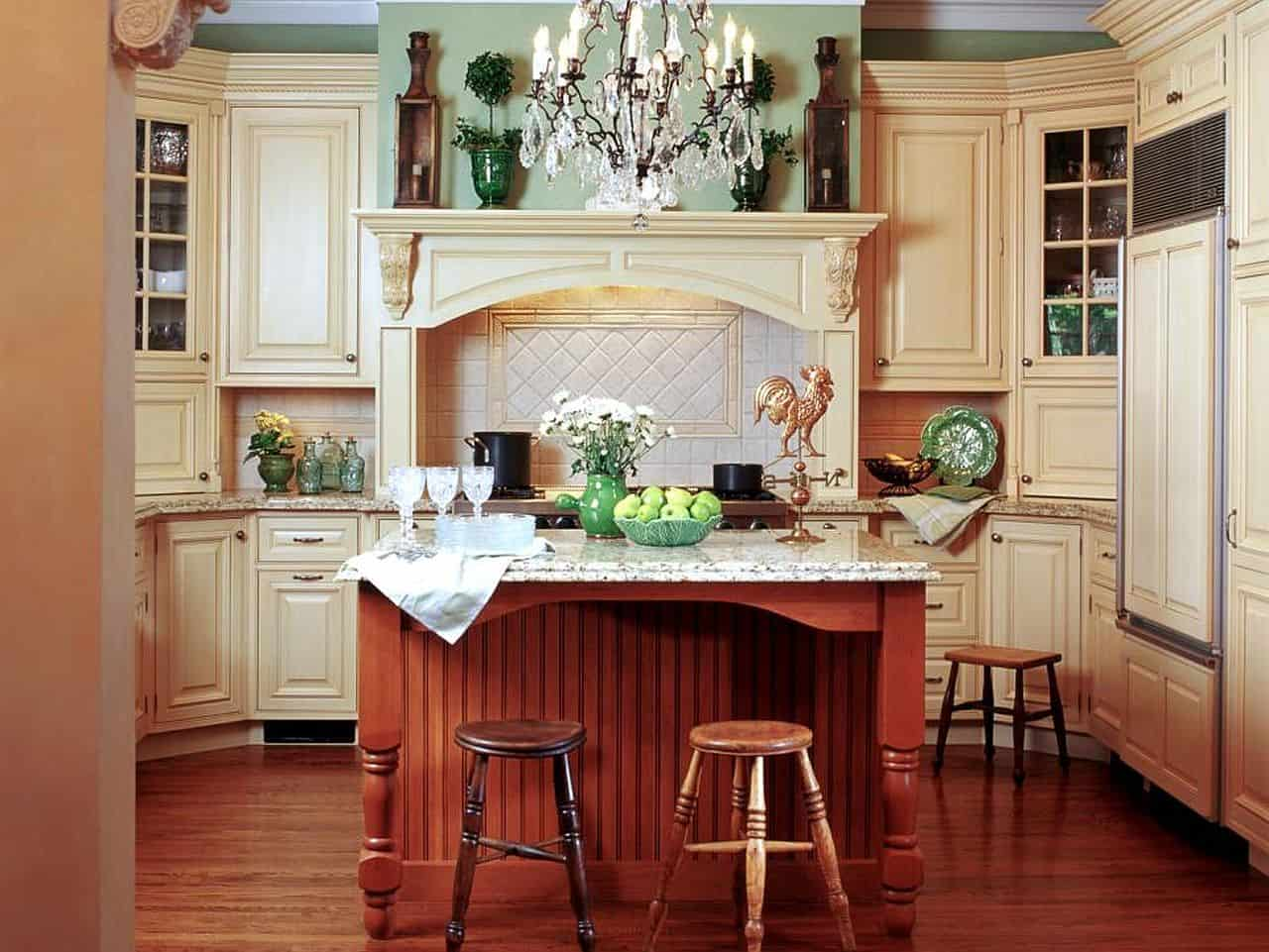 Vintage Feel with Mixed Wood Finishes