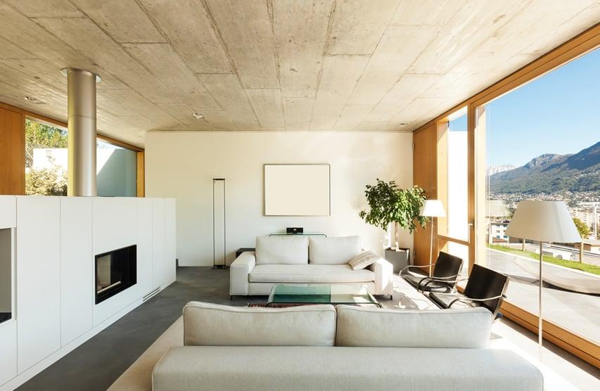 Floor-To-Ceiling window frame