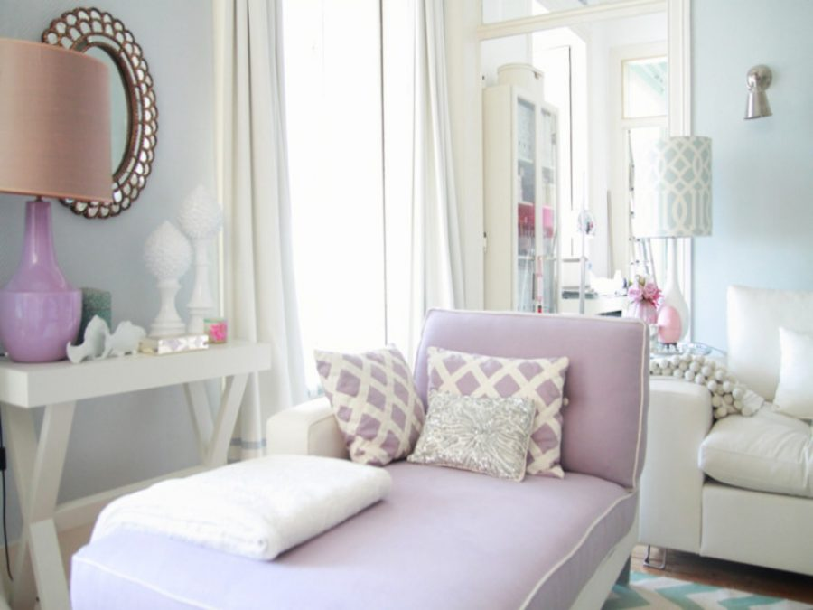 40 accent color combinations to get your home decor wheels for Purple and grey living room ideas