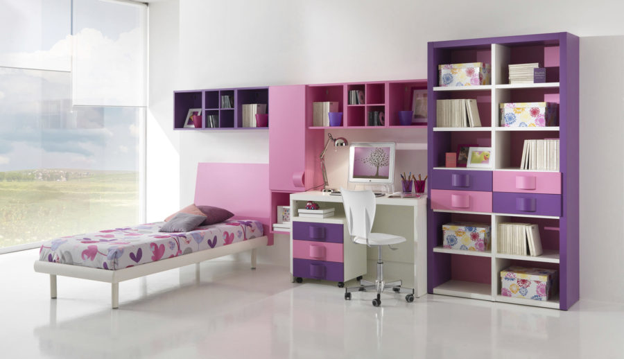 View In Gallery Pink And Purple Room