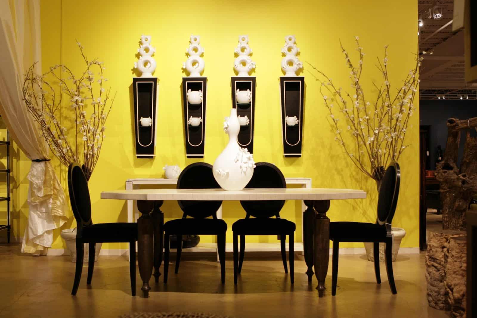 yellow black and white