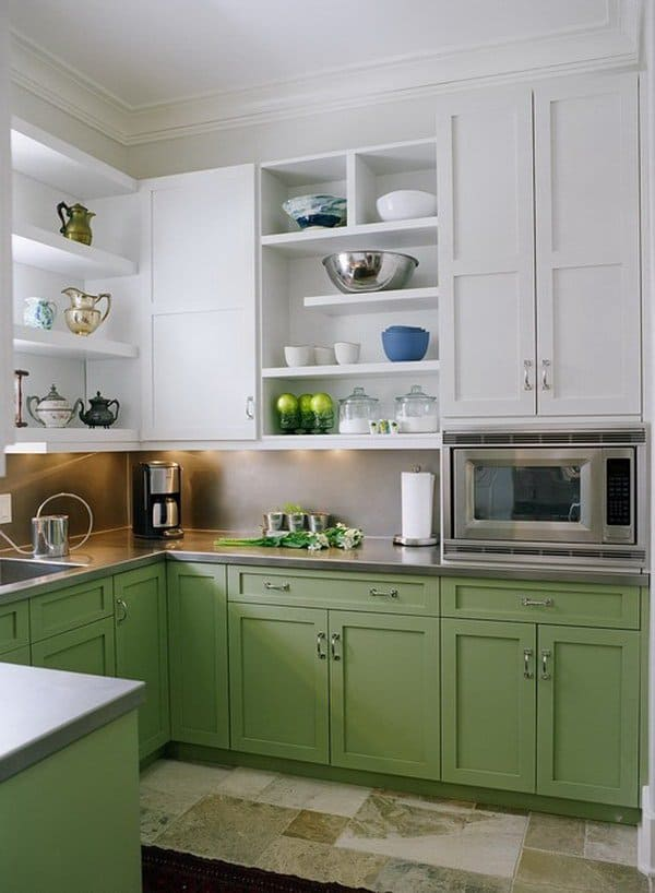 white kitchen cabinets design. View In Gallery 5 Two Tone Kitchen Cabinets 35 Two Tone Kitchen Cabinets To Reinspire Your Favorite Spot In The