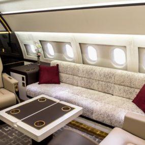 Luxury Living: Best Private Jet Interior Designs