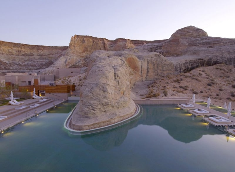 Amangiri Resort and Spa pool