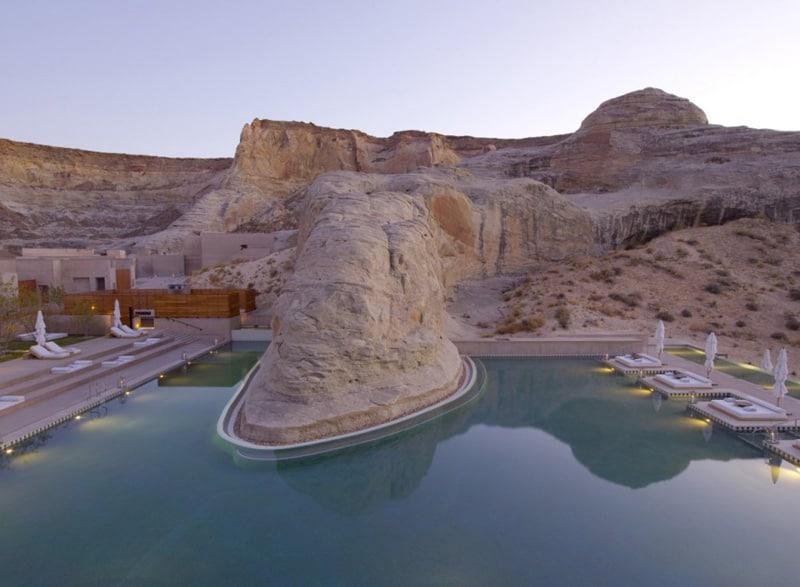 Amangiri Resort and Spa pool