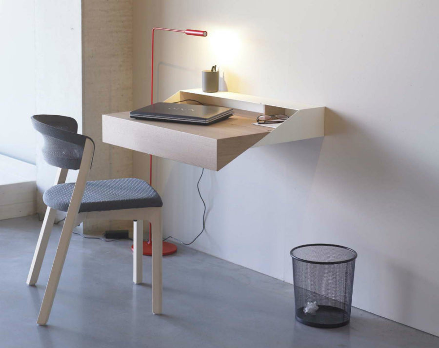 Wall Mounted Desks With Storage