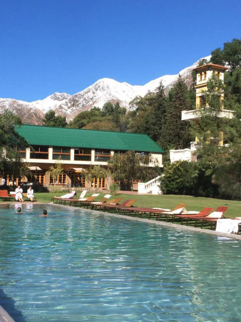Argentina's eco-lux Cacheuta Thermal Hotel & Resort