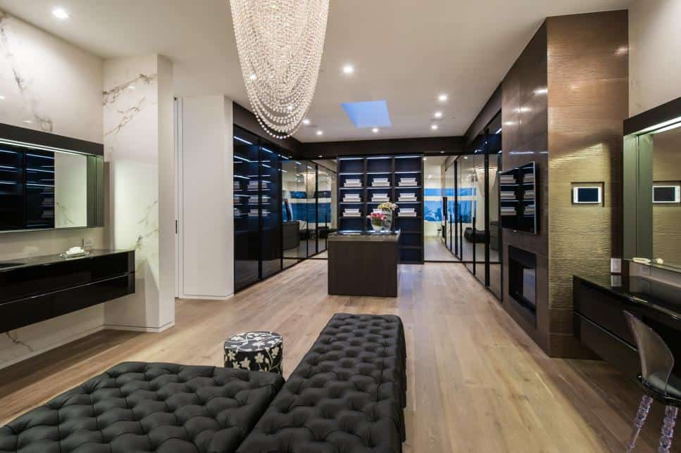 Beverly Hills Luxury Closet by SEE Materials and SEE Construction