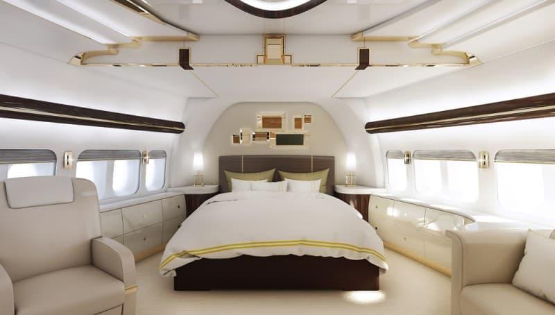Boeing 747-8 bedroom