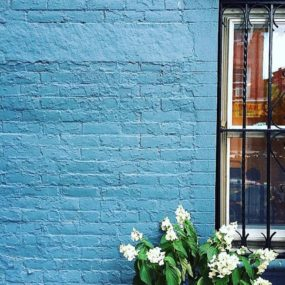 Brooklyn Blue Brick 285x285 14 Cool Brick Buildings and Design Ideas
