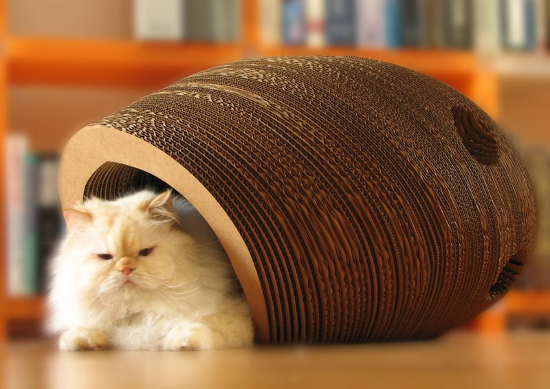 Cat cocoon by One Form Design