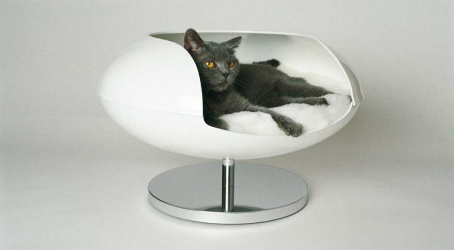 Cesar & Sheba Cat 'Capsul' Christian Ghion