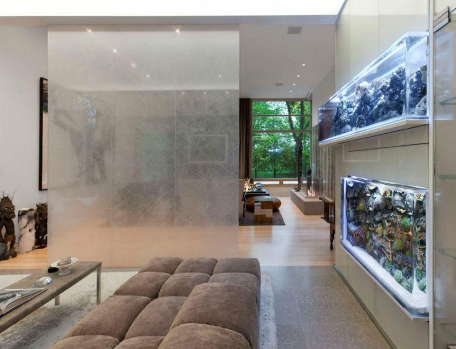 Amazing Built In Aquariums Interior Design