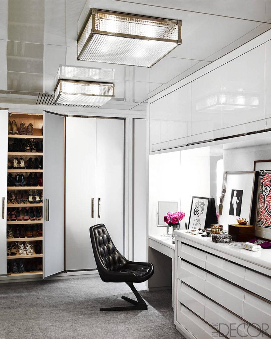 Christine Mack's closet