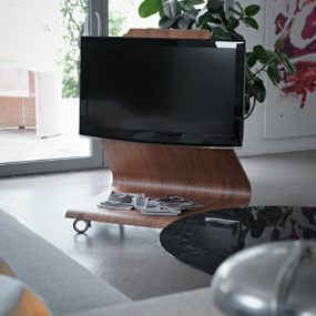 f66b0683e9ca Cobra TV stand by Horm 285x285 44 Modern TV Stand Designs for Ultimate Home  Entertainment