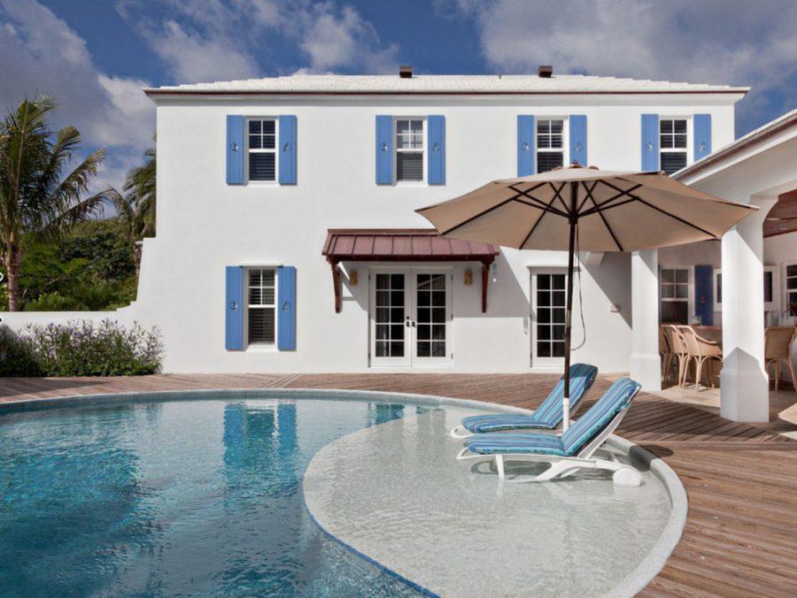 Colonial bermuda residence pool