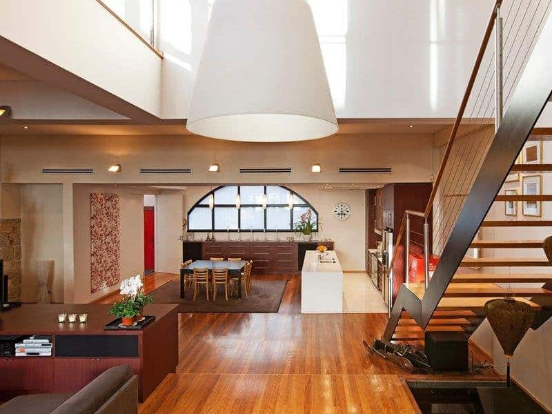Interiors of Surry Hills warehouse conversion
