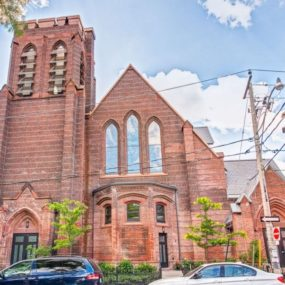 Converted Church Condo 285x285 14 Cool Brick Buildings and Design Ideas