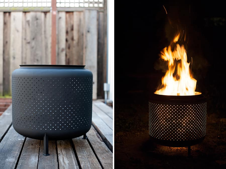 DIY fire pit by House and Fig