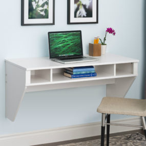 But Wall Mounted Desks Arent Just For Small Spaces In Spacious Modern Homes Their Sleek And Minimal Look Is Valued Way Over Bulky Furniture Pieces