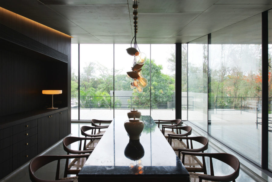 Dining room is too connected to the outdoors