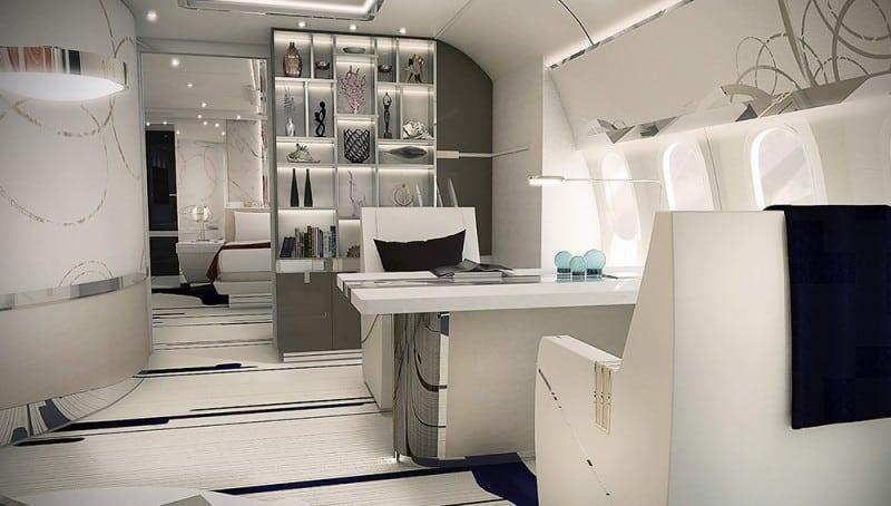 Dreamliner jet