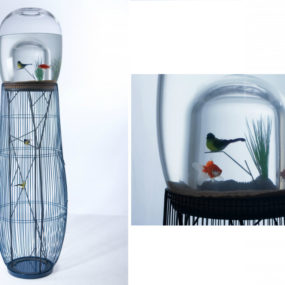 Duplex Fish Tank 285x285 20 Most Unusual Fish Tank Designs For Office And  Home