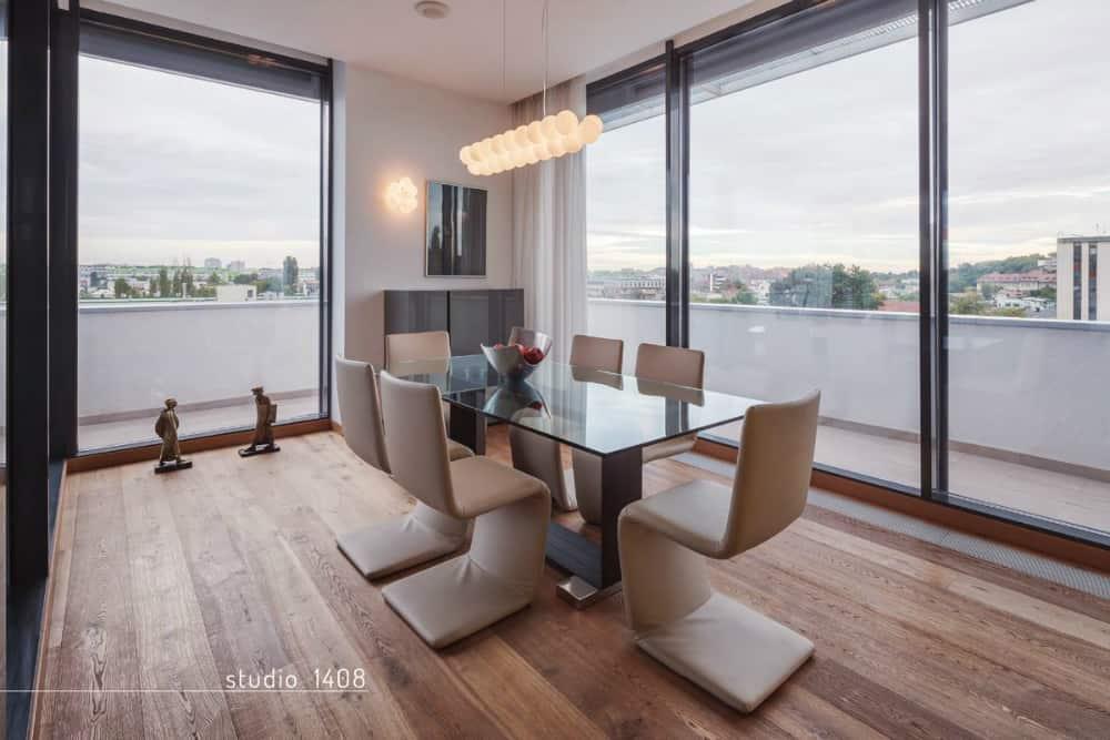 Duplex penthouse apartment by Studio 1408