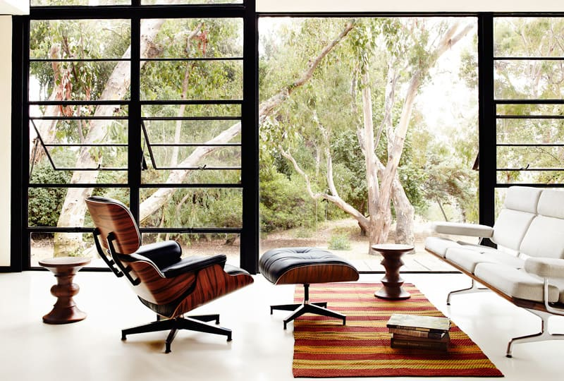 Eames chair and Eames sofa