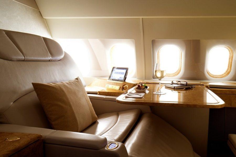 Emirates Airbus 319 seat