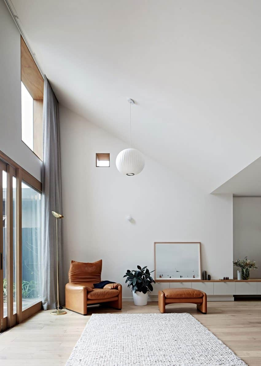 Even the smallest openings help bring more light into the house