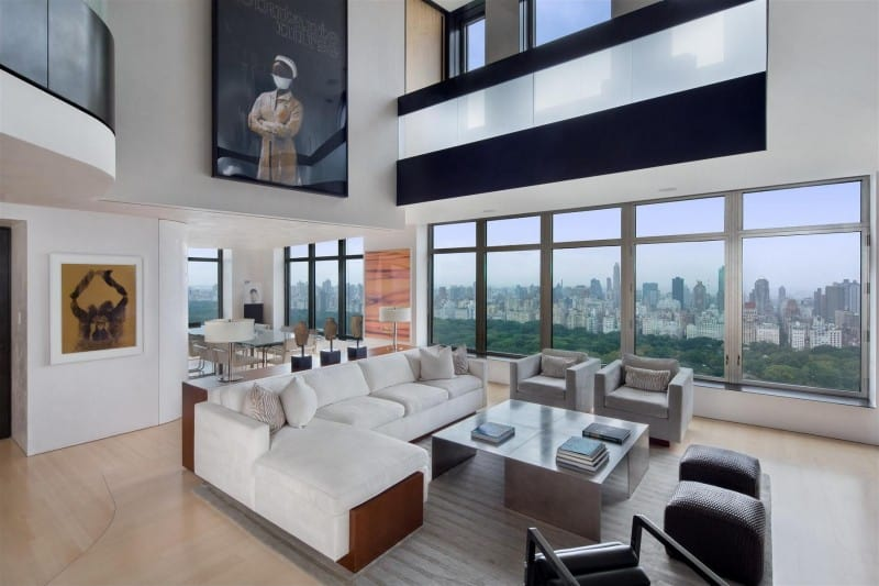 View In Gallery Exclusive Duplex Penthouse In Manhattan Amazing Pictures