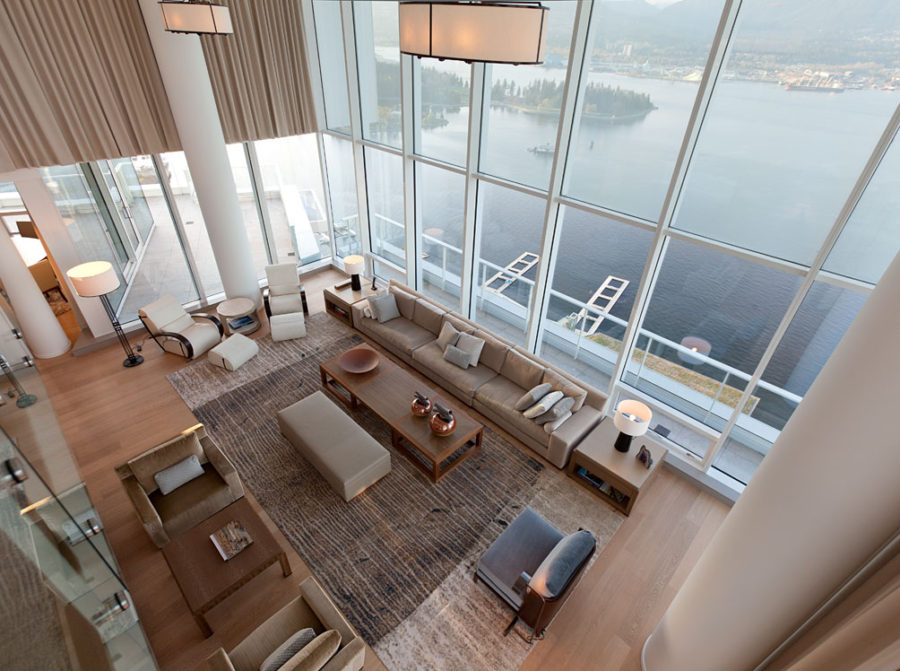 Fairmont -Penthouse by Robert Bailey Interiors