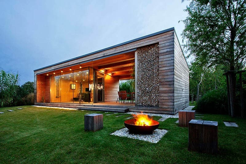 Fire pit by Tóth Project Architect Office