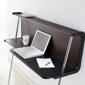 Furniture of America Home Office Desk Writing Desk 285x285 Best Wall Mounted Desk Designs For Small Homes