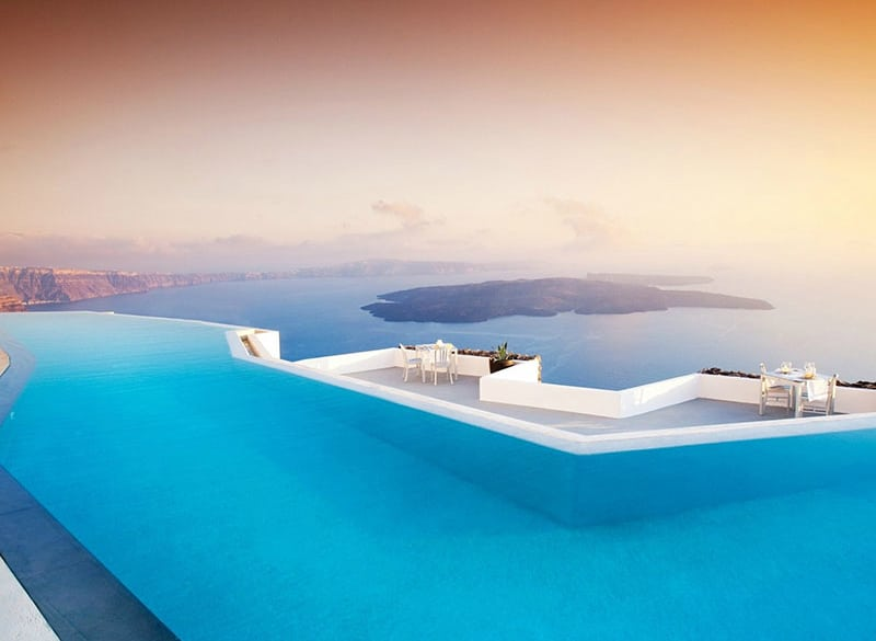 Grace Hotel in Santorini