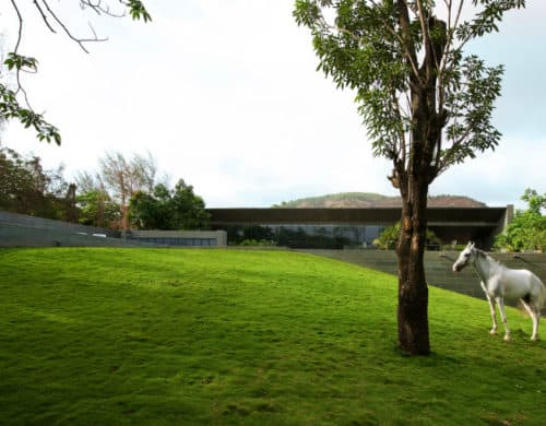 Incredible Malavli Residence Sits on a Man-Made Mound