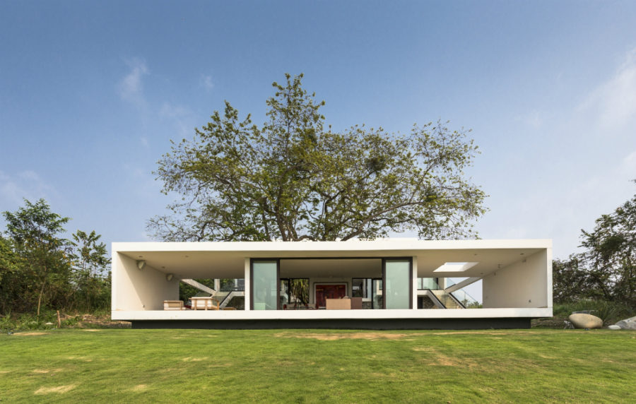View In Gallery Guazuma House By Alberto Zavala Arquitectos