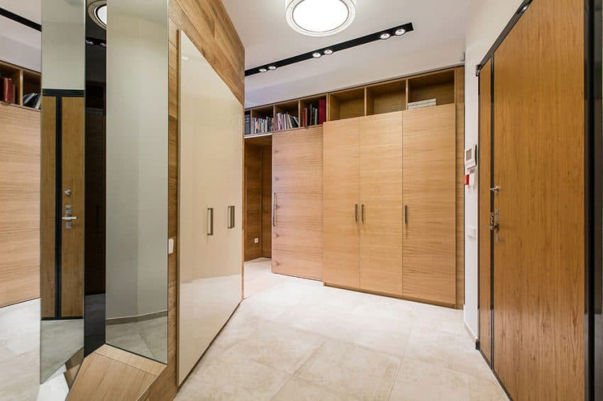 Hallway cupboards and storage