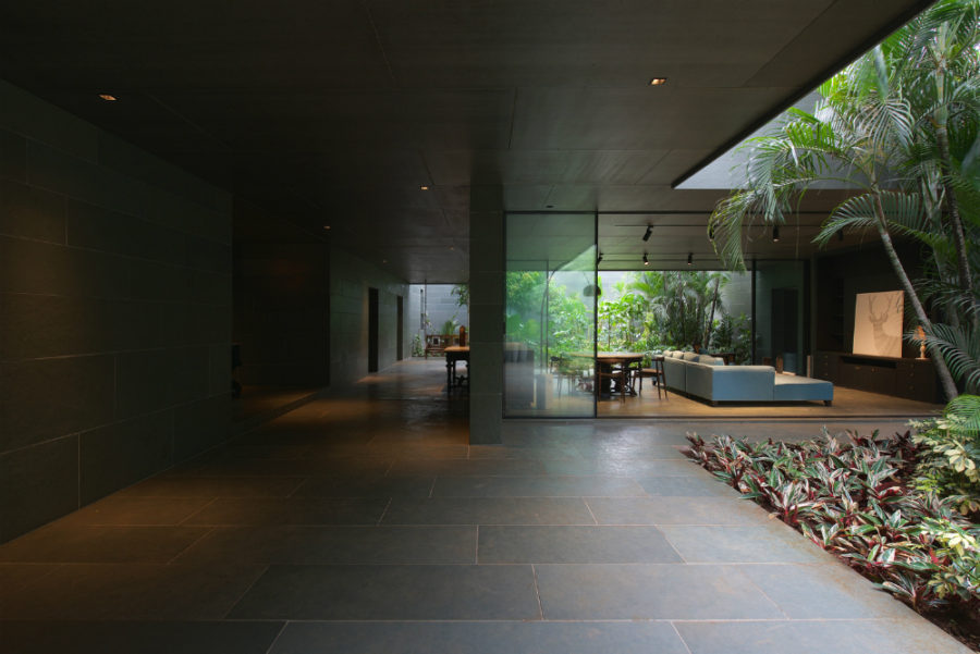 Indoors extend outdoors and the other way around